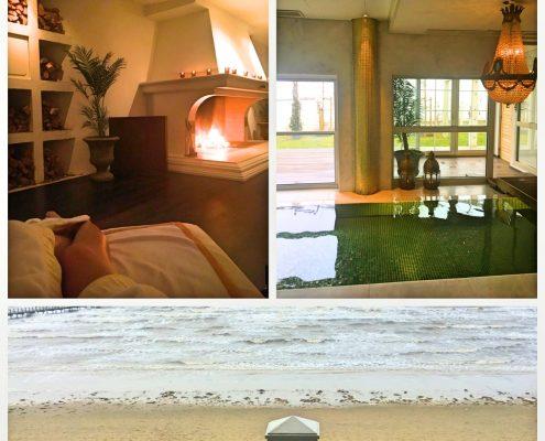 Hyggelig indedørs billeder af en hemmelig get away på Falkenberg Starnd.